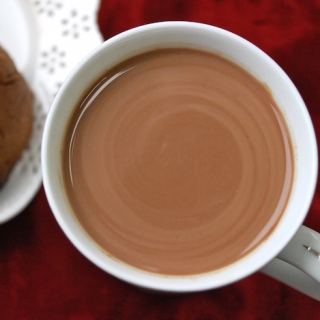 My Peruvian hot chocolate is rich and creamy with hints of cinnamon and cloves. Traditionally served with a slice of Panettone. Funny story included! Enjoy!