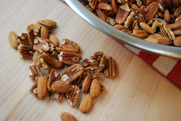 These Cinnamon Sugared Nuts are crunchy, delicious, simple to make and fun to eat. Perfect treat for your guests at any gathering. Enjoy!