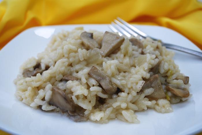 Julia's Mushroom Risotto