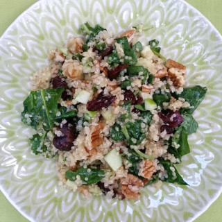 Quinoa Salad with Orange Vinaigrette