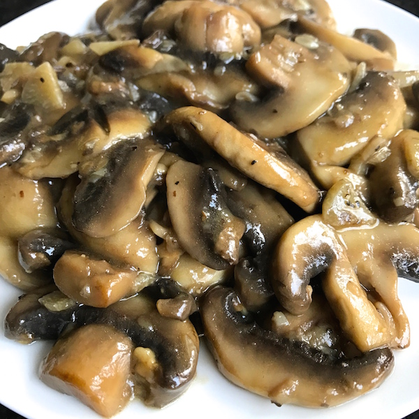 Tony's Sauteed Mushrooms