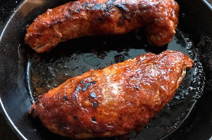 Oven Baked BBQ Pork Tenderloin