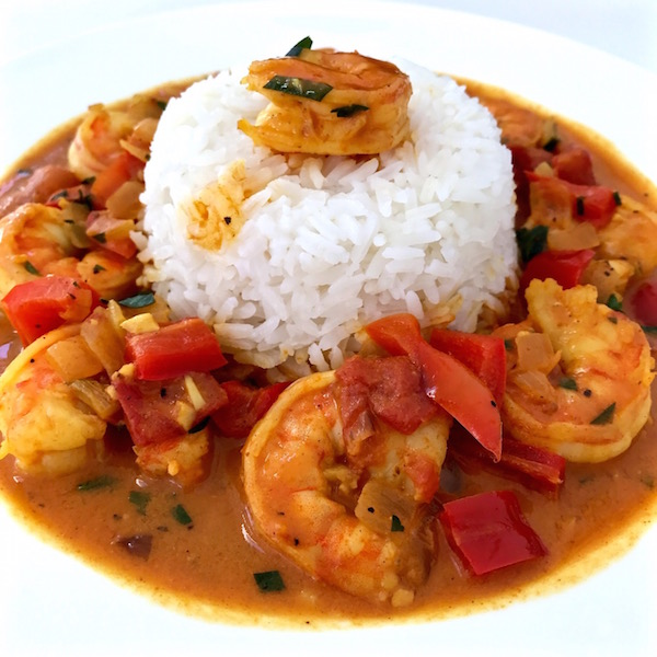 Coconut Curry Shrimp - The Genetic Chef